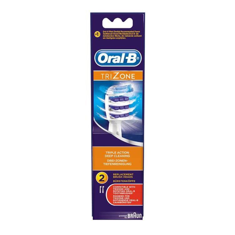 Oral-B Trizone Ανταλλακτικά Ηλεκτρικής Οδοντ. 2τμχ