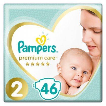 Πάνες Pampers Premium Value Pack Νο 2 (4-8kg) 46τεμ