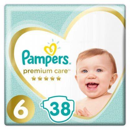 Πάνες Pampers Premium Care Jumbo Pack Νο 6 (13+kg) 38τεμ