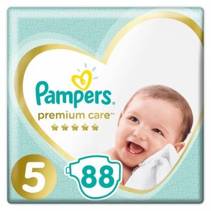 Πάνες Pampers Premium Care Mega Box Νο5 (11-18kg) 88τεμ