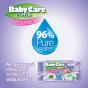 Μωρομάντηλα Babycare Cotton Sensitive 216τμχ (4x54)