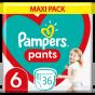 Πάνες Pampers Pants Maxi Pack Νο6 (15+kg) 36τεμ