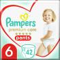 Πάνες Pampers Premium Care Pants Mega Pack Νo6 (15+kg) 42τεμ