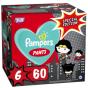 Πάνες Pampers Pants Super ήρωας- limited edition  Νο6 (15+kg) 60τεμ