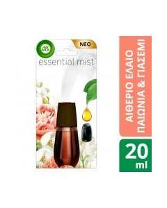 Airwick Essential Mist Ανταλλακτικό Παιώνια & Γιασεμί 20ml