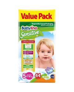 Πάνες Babylino Sensitive Value Pack No5 (11-16Kg) 44τεμ