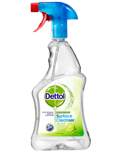 Dettol Απολυμαντικό Spray Καθαρισμού Υγιεινή και Ασφάλεια Lime & Mint 500ml