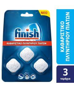 Finish Καθαριστικό Πλυντηρίου Πιάτων Ταμπλέτες (3τεμ)