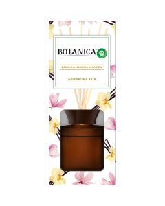 Botanica by Airwick Αρωματικά Στικ Βανίλια & Μανόλια Ιμαλαϊων 80ml