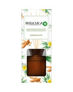 Botanica by Airwick Αρωματικά Στικ Βετιβέρ Καραϊβικής & Σανδαλόξυλο 80ml