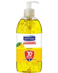 Αντισηπτική Λοσιόν Septona με Αιθυλική Αλκοόλη Και Άρωμα Λεμόνι 70%  (1000ml)