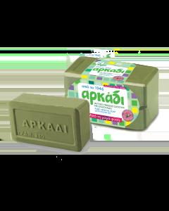Αρκάδι Φυσικό Σαπούνι Σε Πλάκες Πράσινο 2x250 gr