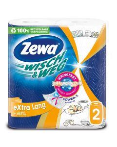 Χαρτί κουζίνας Zewa Wisch & Weg Extra Long 2φυλλο 2 ρολά