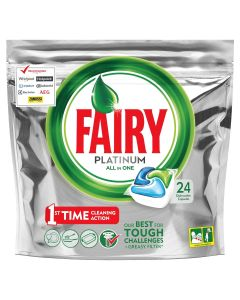Fairy Platinum Original Κάψουλες Πλυντηρίου Πιάτων 24 Κάψουλες
