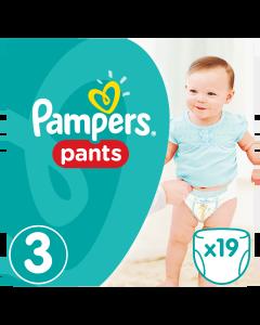 Πάνες Pampers Pants Carry Pack Νο3 (6-11kg) 19τεμ