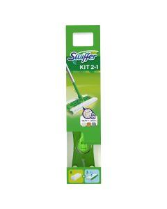Swiffer Πλήρες Σύστημα Καθαρισμού - Σκούπα + 8 Πανάκια Στεγνά + 3 Πανάκια Υγρά