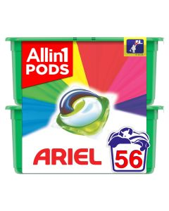 Ariel Allin1 PODS Colour Κάψουλες 56τεμ (2x28 τεμ)