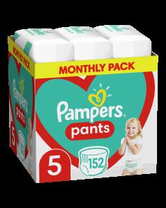 Πάνες Pampers Pants Monthly Pack Νο5 (12-17kg) 152τεμ