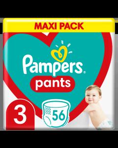 Πάνες Pampers Pants Jumbo Pack Νο3 (6-11kg) 56τεμ