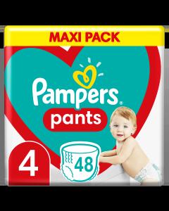 Πάνες Pampers Pants Jumbo Pack Νο4 (9-15kg) 48τεμ