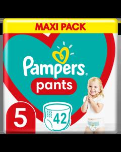 Πάνες Pampers Pants Jumbo Pack Νο5 (12-15kg) 42τεμ