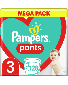Πάνες Pampers Pants Mega Pack No3 (6-11kg) 128 τμχ