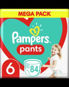 Πάνες Pampers Pants No6 Mega Pack (15+kg) 84 τμχ