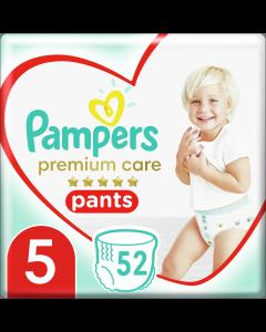 Πάνες Pampers Premium Care Pants Mega Pack Νo5 (12-17+kg) 52τεμ