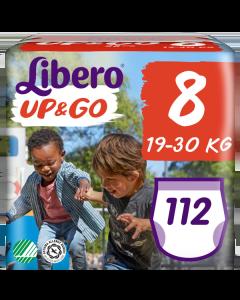 Πάνες Libero Up & Go Jumbo Pack Νο8 (19-30kg) 112τεμ