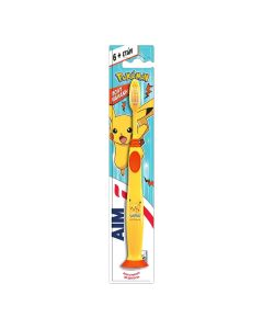 Aim 2-6 Ετών Παιδική Οδοντόβουρτσα Pokemon