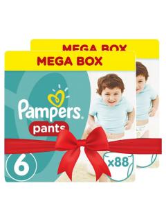 Πάνες Pampers Pants Mega Box Νο6 (15+kg) 176τεμ (2x88τεμ)