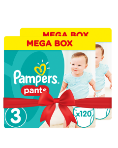 Πάνες Pampers Pants Mega Box Νο3 (6-11kg) 240τεμ  (2x120τεμ )