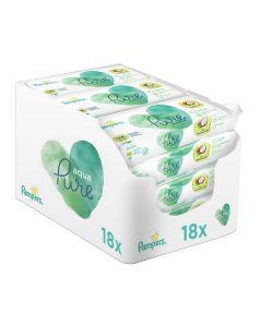 Μωρομάντηλα Pampers Coconut Pure Monthly Βοx 756τεμ (18x42τεμ)