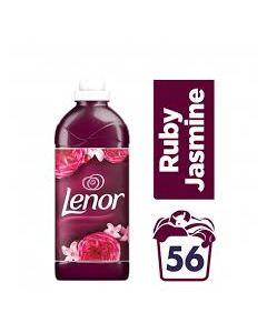 Lenor Μαλακτικό Ρούχων Ruby Jasmine 1400 ml 56 Μεζούρες