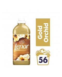 Lenor Μαλακτικό Ρούχων Gold Orchid 1400ml 56 Μεζούρες