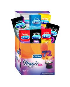 Durex Προφυλακτικά Magicbox 72τεμ (limited edition συλλογή)