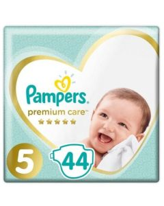 Πάνες Pampers Premium Care Jumbo Pack Νο5 (11-16kg) 44τεμ