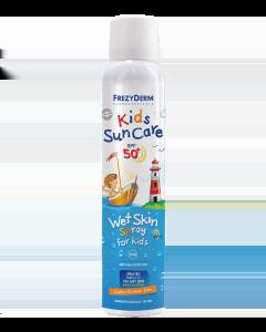 Frezyderm Kids SunCare Wet Skin Αντηλιακό Spray για παιδιά SPF50+ (200ml)