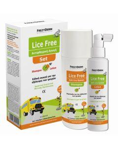 Frezyderm Lice Free Set (Αντιφθειρικό Σαμπουάν + Λοσιόν 2*125ml)