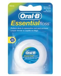 Oral-B Essential Floss οδοντικό νήμα ακήρωτο 50μ