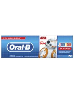 Oral-B Παιδική Οδοντόκρεμα  Star Wars 6+χρονών 75ml