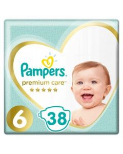 Πάνες Pampers Premium Jumbo Pack Νο 6 (13+kg) 38τεμ