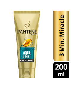 Pantene Κρέμα Μαλλιών Aqualight 3 Minutes Miracle 200ml