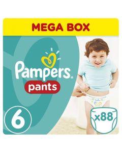 Πάνες Pampers Pants Mega Box Νο6 (15+kg) 88τεμ