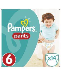 Πάνες Pampers Pants Carry Pack Νο6 (15+kg) (14τεμ)