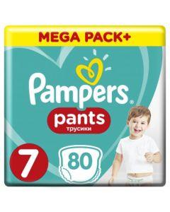 Πάνες Pampers Pants Mega Pack Νο7 (17+kg) 80τεμ