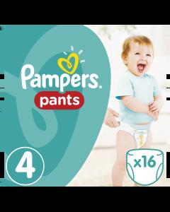 Πάνες Pampers Pants Carry Pack Νο4 (9-15kg) 16τεμ