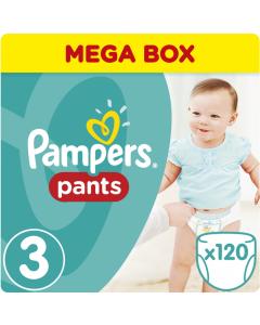 Πάνες Pampers Pants Mega Box Νο3 (6-11kg) 120τεμ