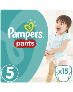 Πάνες Pampers Pants Carry Pack Νο5 (12-17kg) 15τεμ