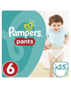 Πάνες Pampers Pants Νο6 (15+kg) 25τεμ